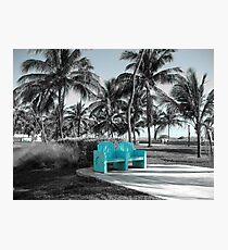 blue recreation Photographic Print
