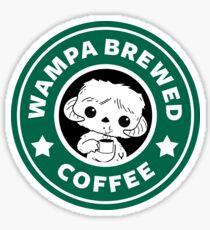 Wampa Brewed Coffee Sticker