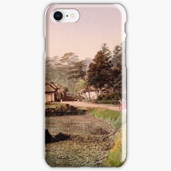 View of Totsuka, Tokaido, Japan iPhone Snap Case
