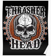 Thrasher Head Poster