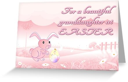 For A Beautiful Granddaughter at Easter by Vickie Emms