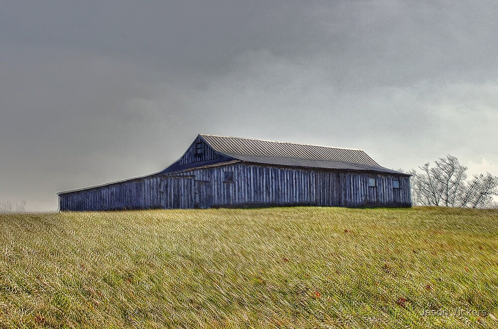 Hilltop Barn (HDR) by Jason Vickers