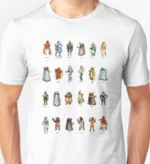Doctor Who - 1975 Weetabix Promotion Characters Unisex T-Shirt