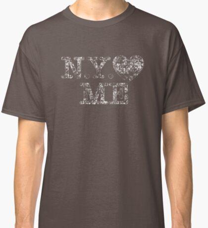 NY Love Me Retro Vintage Classic T-Shirt