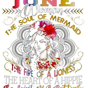 JUNE WOMAN THE SOUL OF A MERMAID HEART by Thanada
