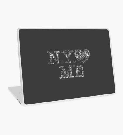NY Love Me Retro Vintage Laptop Skin