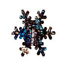 Pyroxene Snowflake by MineralPhotos
