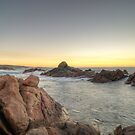 Canal Rocks Sunset by Geoffrey Chang