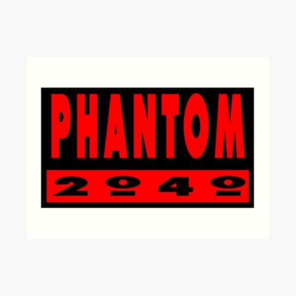 Phantom 2040 logo Art Print