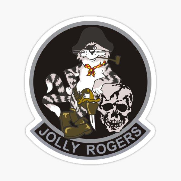 F-14 Tomcat VF-103 Jolly Rogers Sticker