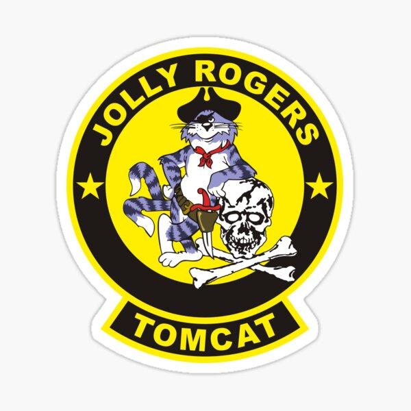 F-14 Tomcat VF-84 Jolly Rogers Sticker