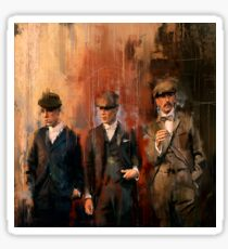 "Tommy, Arthur, Finn "" Peaky Blinders "" Sticker"