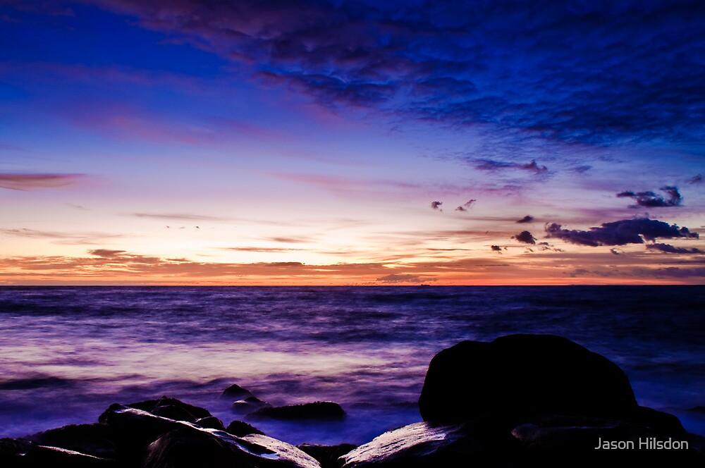 Sunrise @ Clovelly by Jason Hilsdon