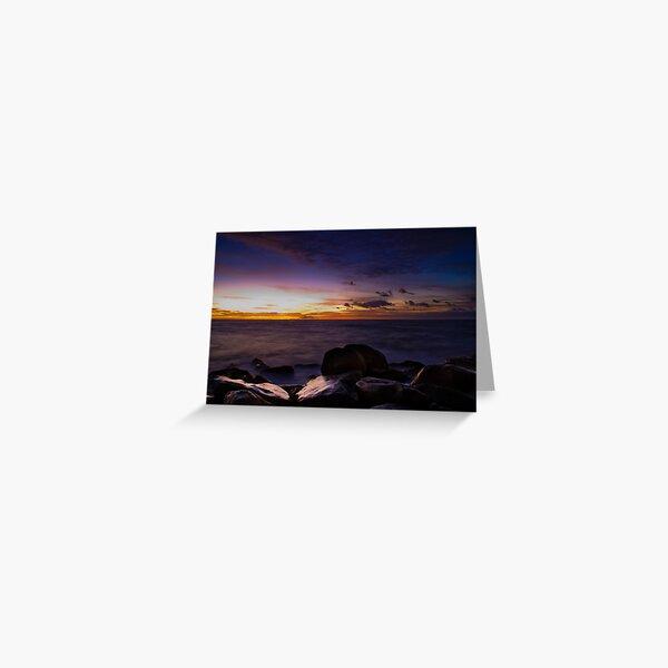 Sunrise @ Clovelly Greeting Card
