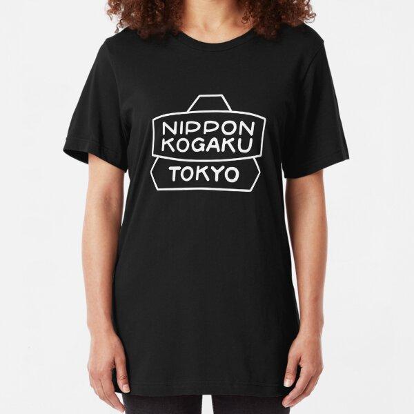 Nikon Tokyo - 100 Years Celebration (Black Version) Slim Fit T-Shirt