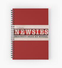 Cuaderno de espiral Color Newsies Logo