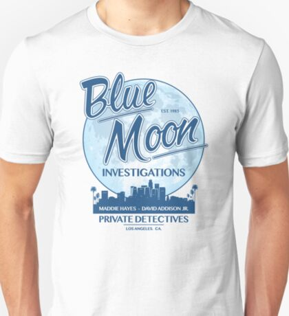 Moonlighting - Blue Moon Untersuchungen T-Shirt