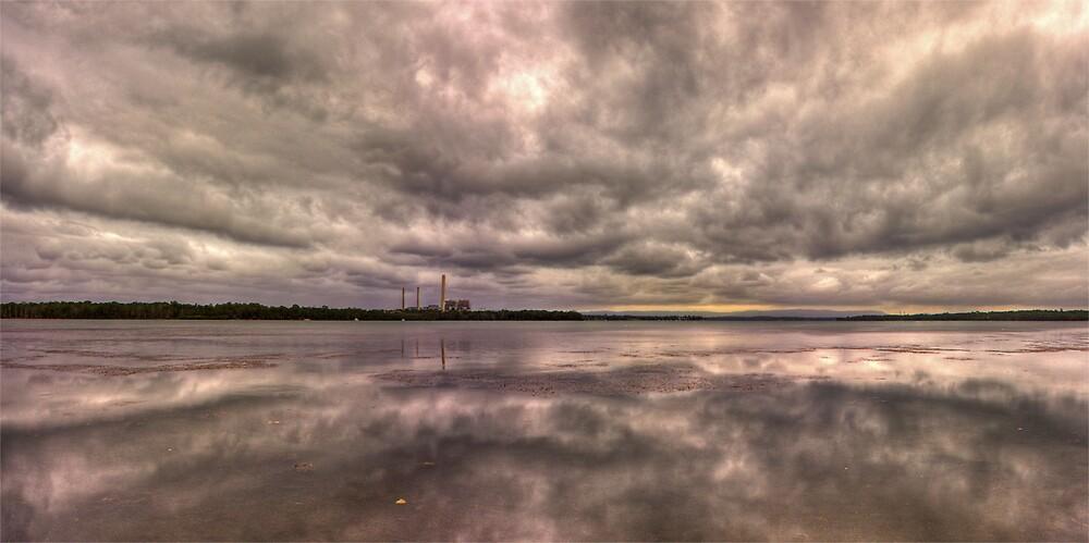 Vales Point Power Station - Lake Macquarie Australia by Steve D