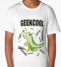 Cool Geek -Accessories and T-Shirts Long T-Shirt