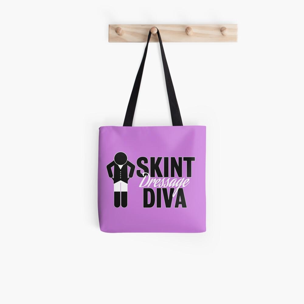 Skint Dressage Diva - Pink Tote Bag