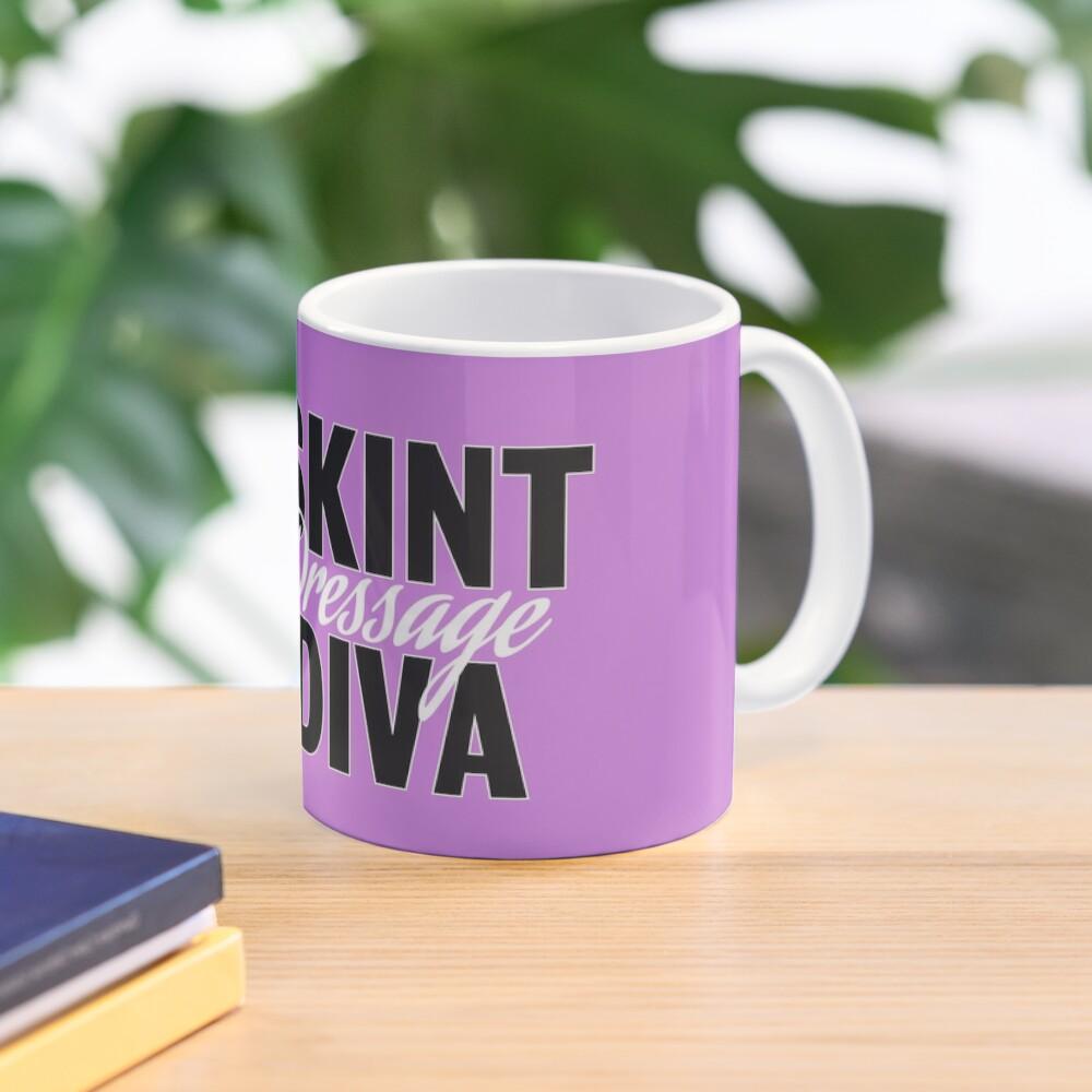 Skint Dressage Diva - Pink Mug