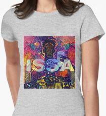 Abstract ISSA Women's Fitted T-Shirt