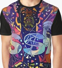 Abstract ISSA Graphic T-Shirt