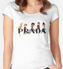 Prada Spice Women's Fitted Scoop T-Shirt