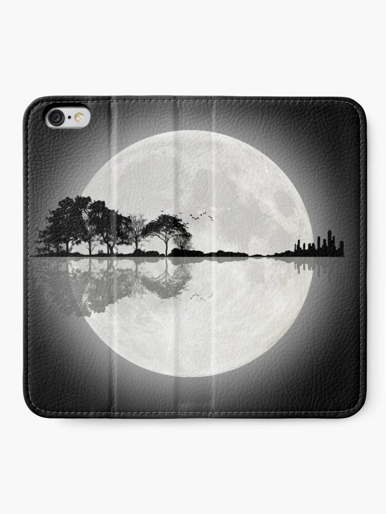 Alternate view of Moonlight Nature Guitar iPhone Wallet