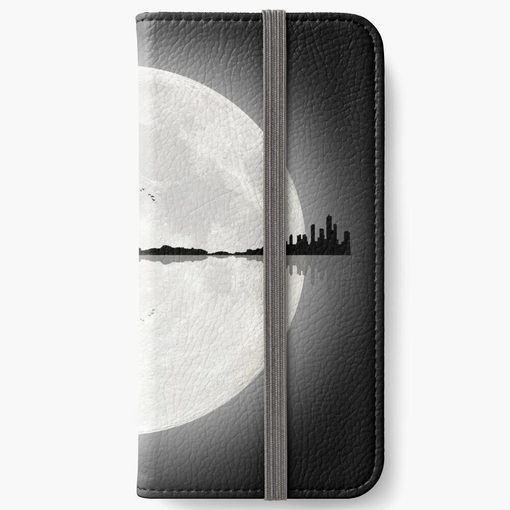 Moonlight Nature Guitar iPhone Wallet