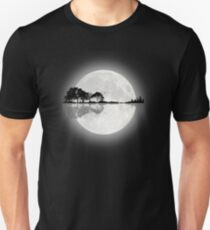 Moonlight Nature Guitar Unisex T-Shirt