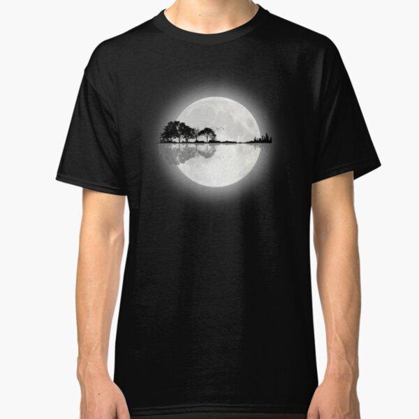 Moonlight Nature Guitar Classic T-Shirt