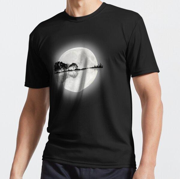 Moonlight Nature Guitar Active T-Shirt