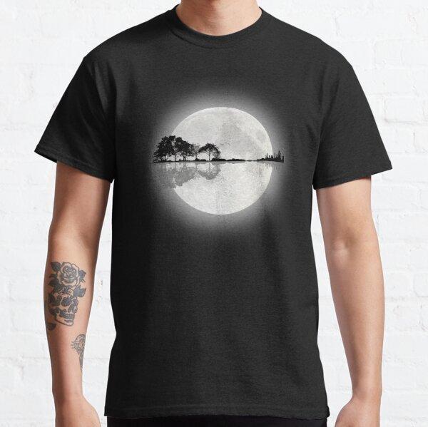 Moonlight Nature Guitar T-shirt classique