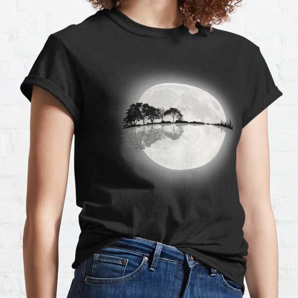 Moonlight Nature Guitar Classic T-Shirt