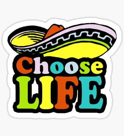Choose t-shirt Sticker