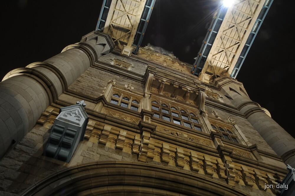 tower bridge detail by jon  daly