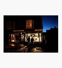Simon the pie mans shop  Photographic Print