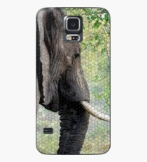Unique Samsung Galaxy and iPhone Cell Phone Cover with Mosaic Tiled Elephant Design Case/Skin for Samsung Galaxy
