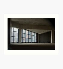 Empty building Art Print