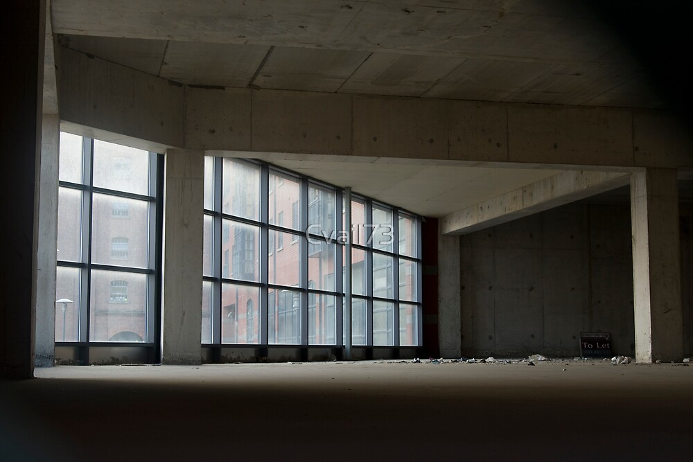 Empty building by Cvail73