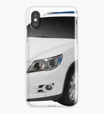 4x4 suv car isolated on white iPhone Case/Skin