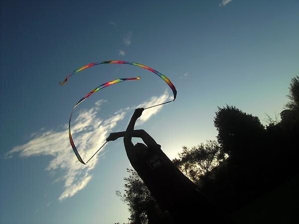 rainbow sticks by Catieee