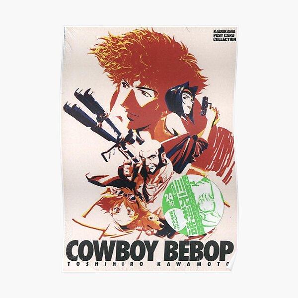 cowboy bebop postcard collection artwork Poster