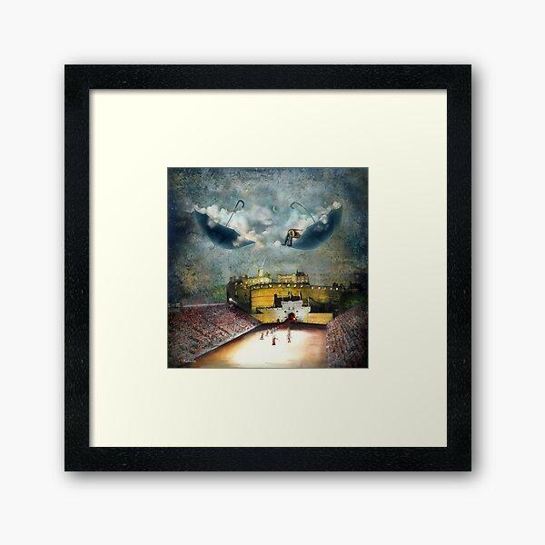 """""""Above The Castle""""  Framed Art Print"""