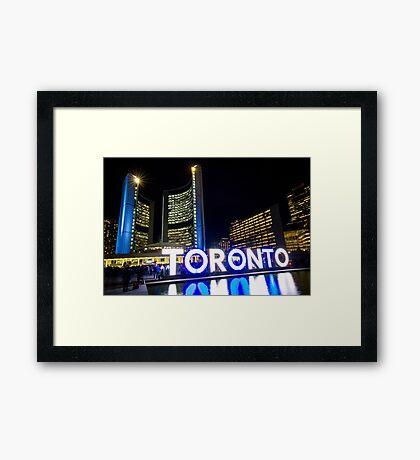 City Hall 6 Framed Print