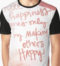 Happiness Graphic T-Shirt