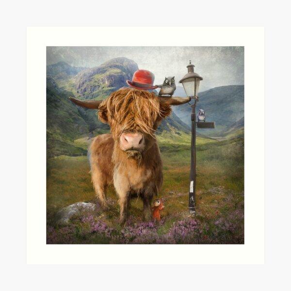"""Highland Cow"" Art Print"