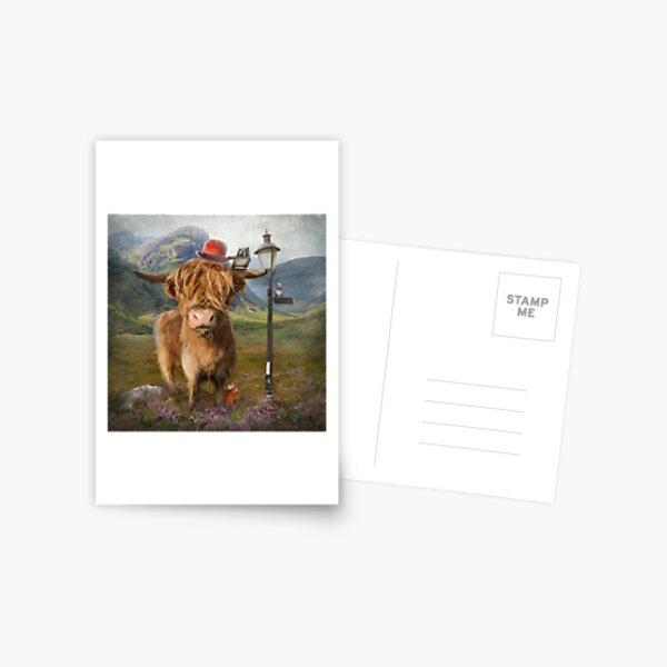 """Highland Cow"" Postcard"