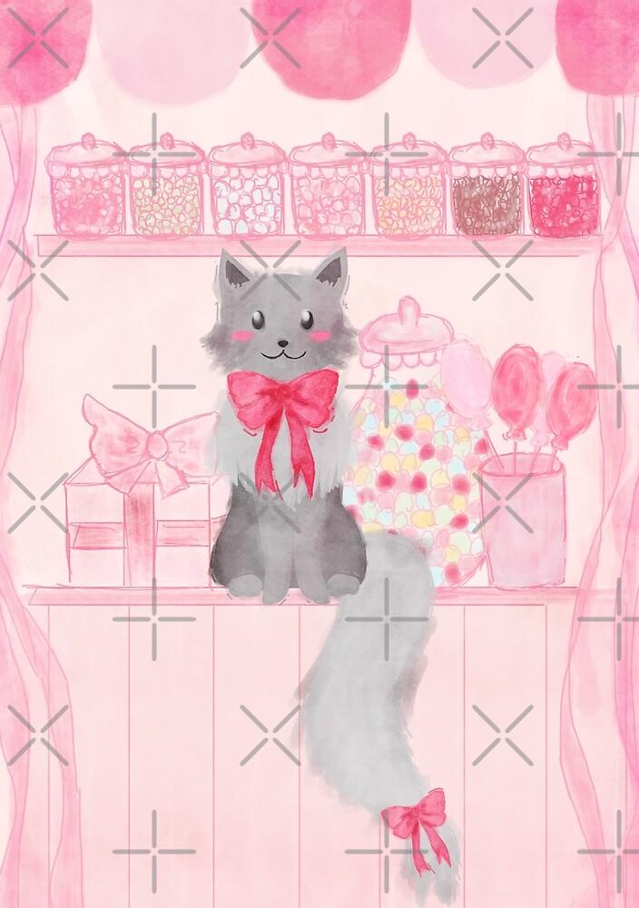 Candy Shop Cat by Alexa Weidinger